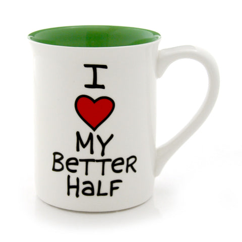I Heart My Better Half Mug