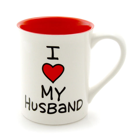 I Heart My Husband Mug