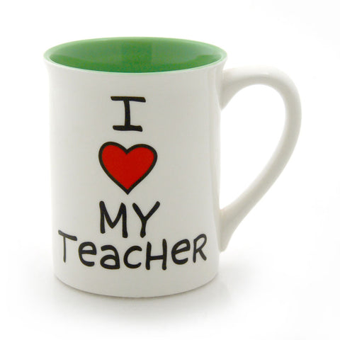 I Heart My Teacher Mug