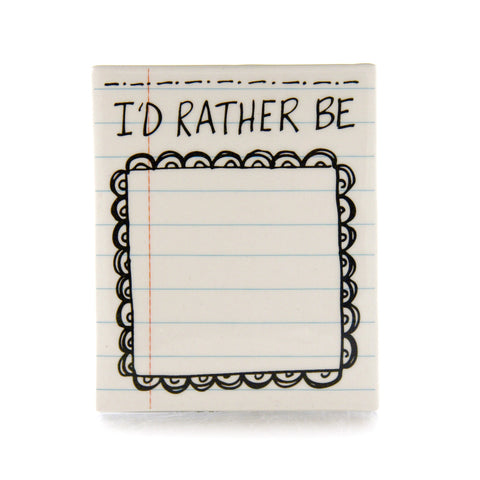 ID Rather Be... DIY Magnet