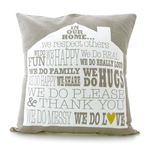 In This Home Pillow