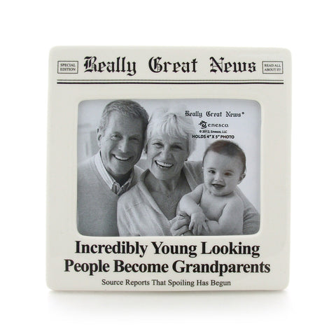 Incredibly Young Photo Frame - Really Great News