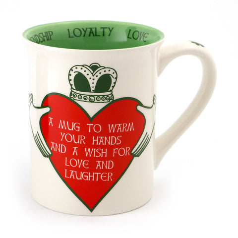 Irish Claddagh Ring Mug