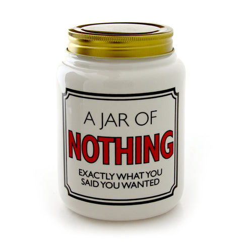 Jar of Nothing - Large