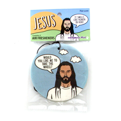 Jesus Air Freshner 2pc Set