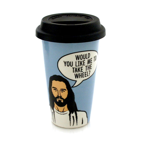 Jesus Travel Mug