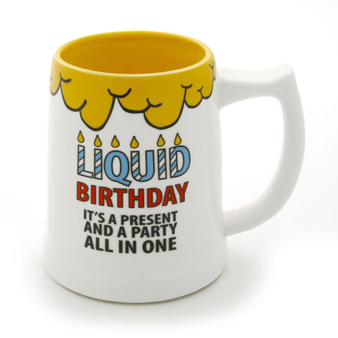 Liquid Birthday Beer Stein
