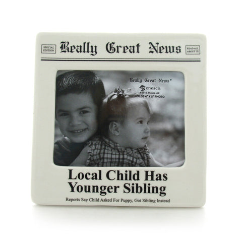 Local Child Photo Frame - Really Great News