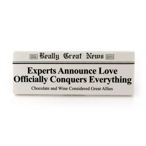 Love Conquers Plaque RGN