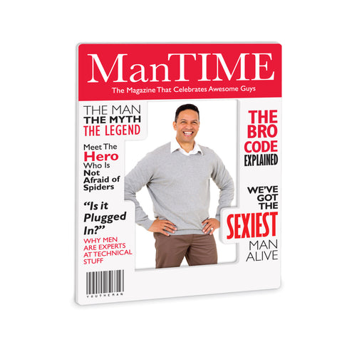 Man Time Magazine Frame