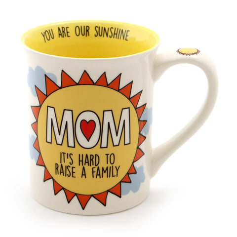 Mom Raise A Family Mug