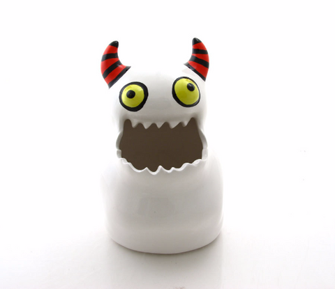 Monster Pot Planter Cup and Collectible