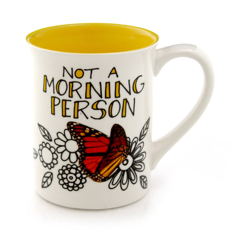 Morning Butterfly Mug  Hoots