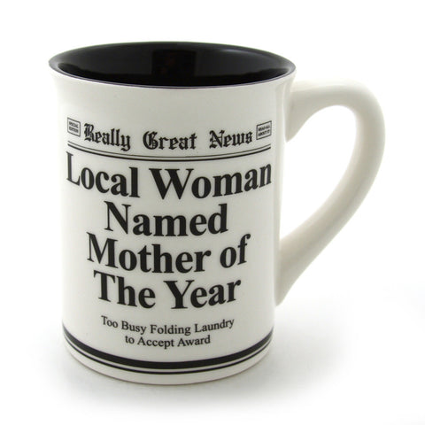 Mother Of The Year Mug - Really Great News