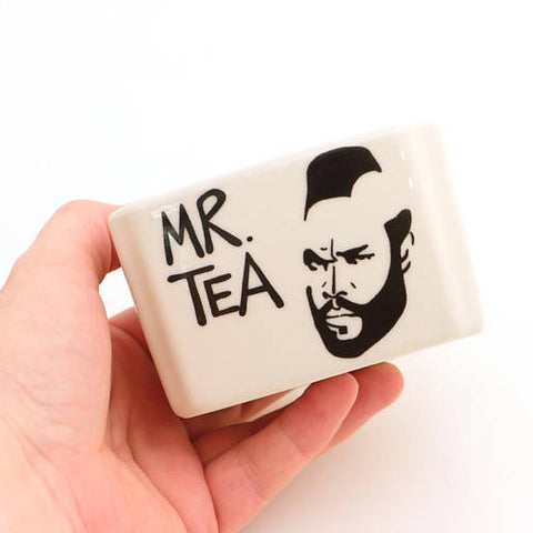 Mr. T Tea Caddy