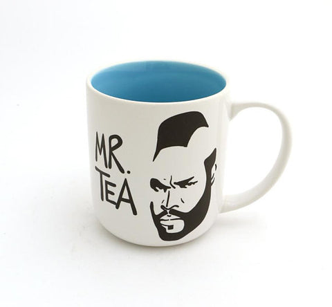 Mr. T Tea Mug - Blue Inside