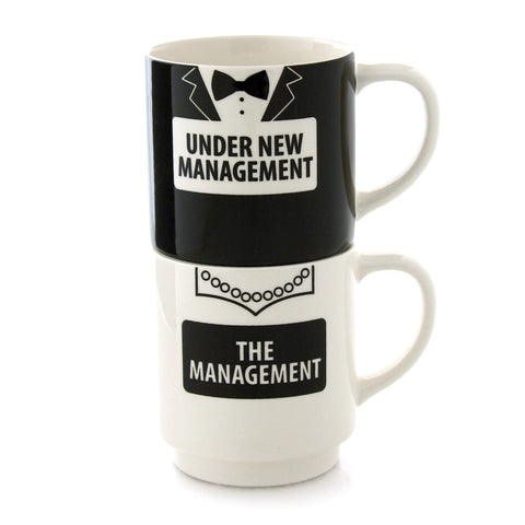 New Management Stacking Mugset