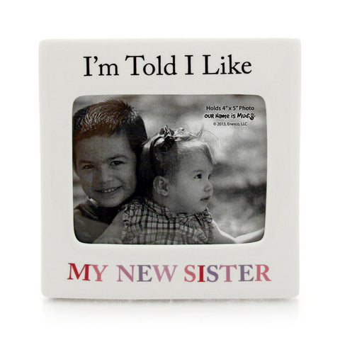 New Sister Photo Frame