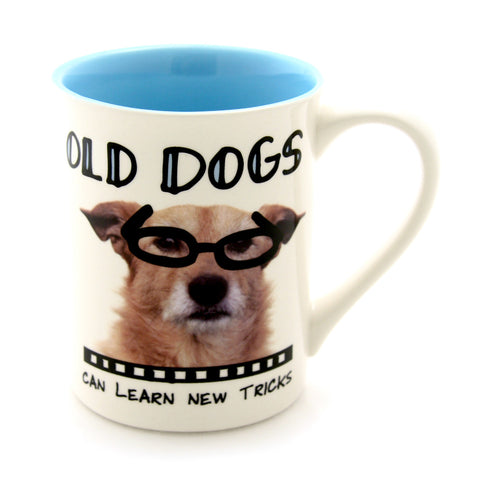 Old Dogs Mug- Hoots N' Howlers