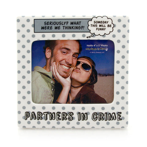 Partners In Crime Photo Frame