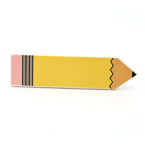 Pencil Plaque with Pen