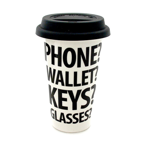 Phone Wallet Travel Mug