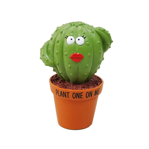 Plant One On Me Cactus Figurine