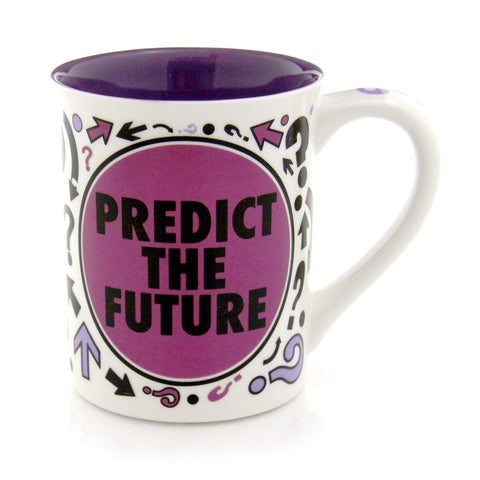 Predict The Future Spinner Mug