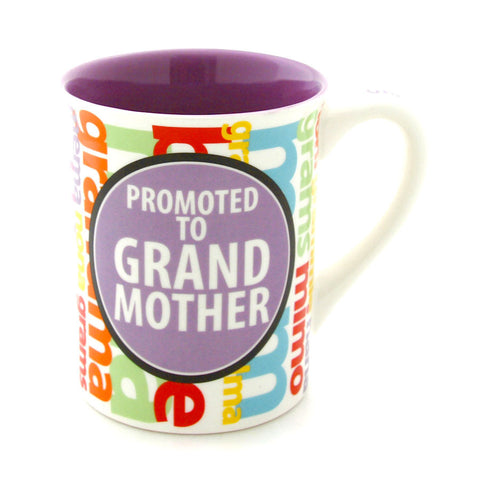 Promoted Grandmother Mug