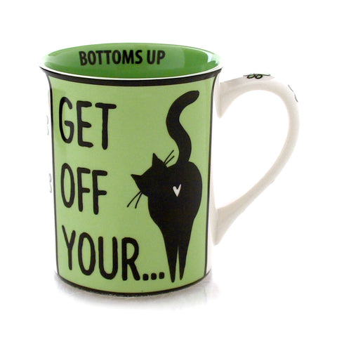 Purrfect Cat Bottom Mug