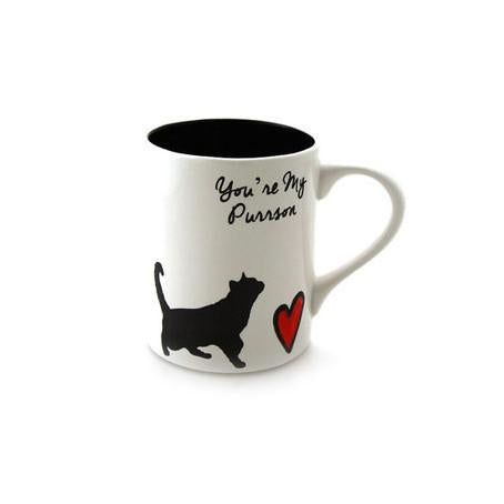 You're My Purrson Cat Mug - Handmade in the USA