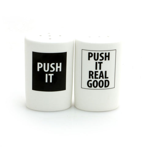 Push it Real Good Salt and Pepper Shaker Set