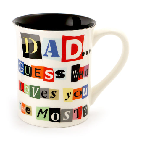 Ransom Note for Dad Mug