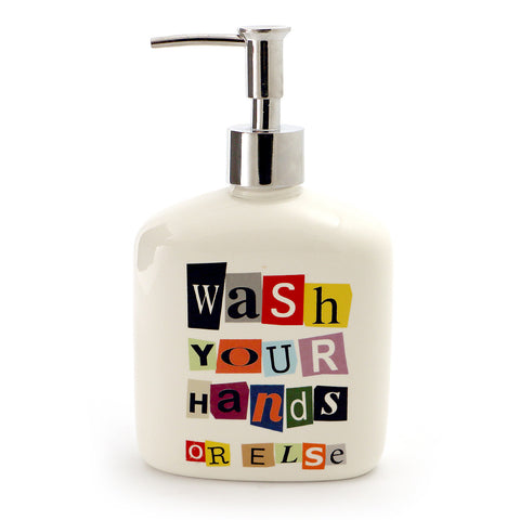 Funny Ransom Note Soap Dispenser