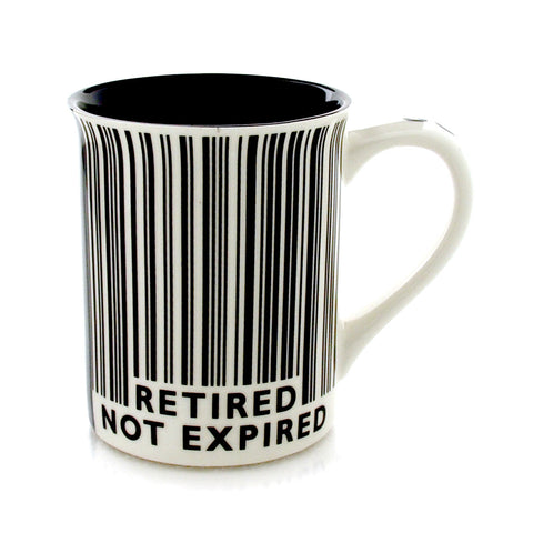Retired Barcode Mug