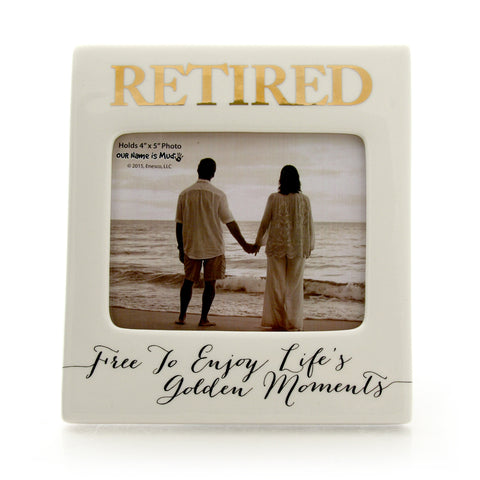 Retired Enjoy The Golden Moments Frame