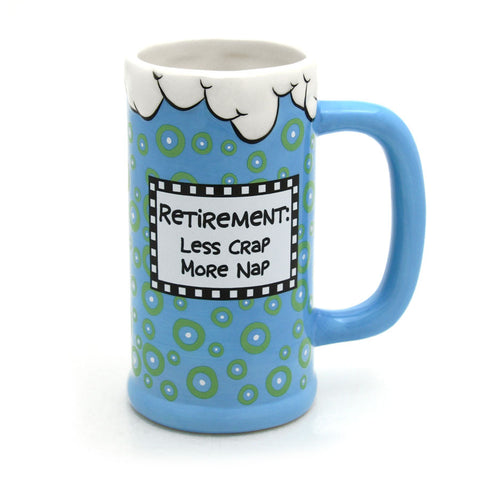 Retirement Ceramic Stein