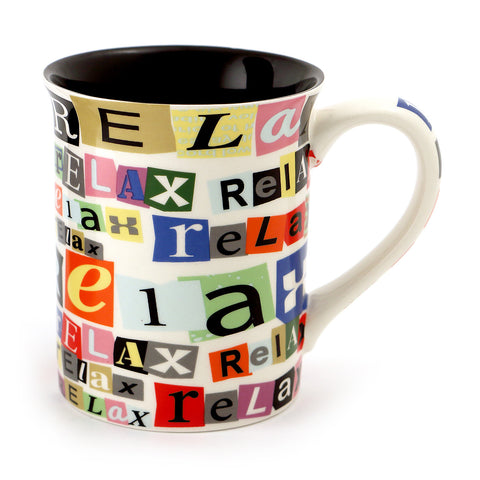 Retirement Ransom Note Mug