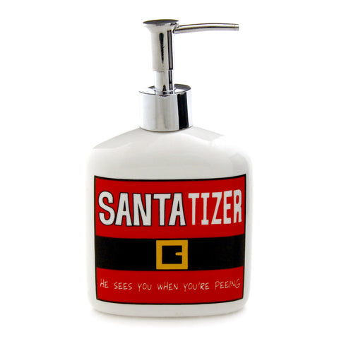 Santa-Tizer Soap Dispenser