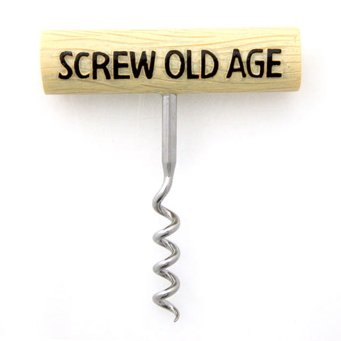 Screw Old Age Cork Screw