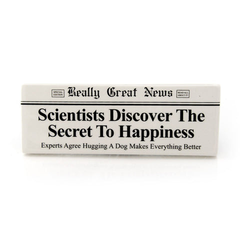 Secret To Happiness Plaque RGN