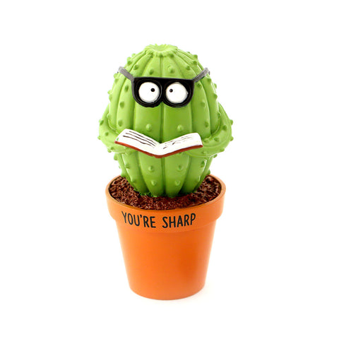 Sharp Cactus Figurine