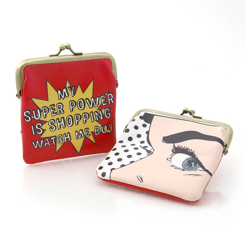 Shopping Super Power Coin Purse