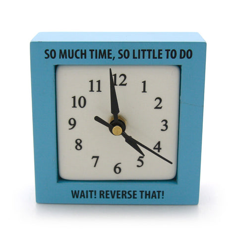 So Much Time Desk Clock