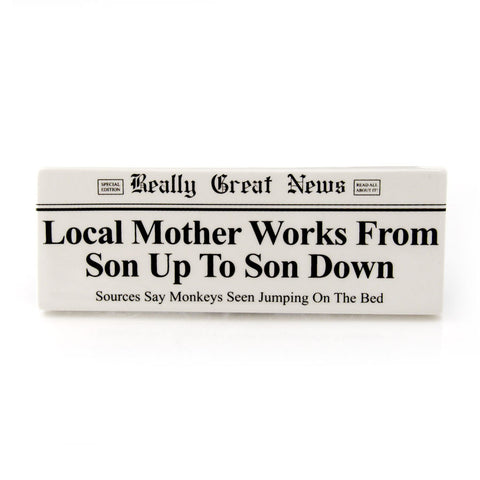 Son Up Son Down Plaque RGN