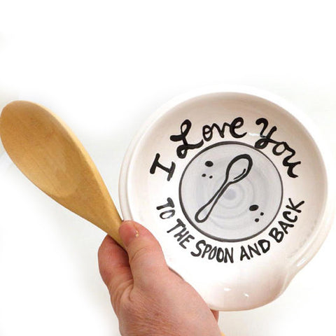 To the Spoon and Back Spoon Rest