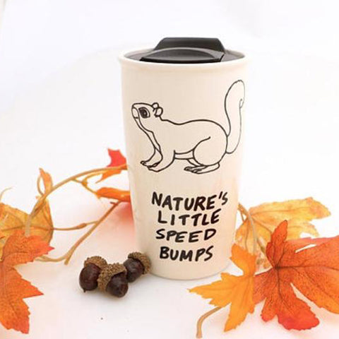 Squirrel Eco Travel Mug
