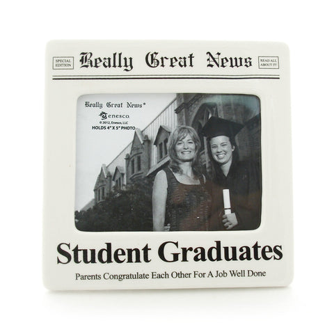 Student Grad Photo Frame - Really Great News