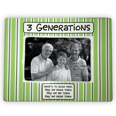 Three Generations Men Frame