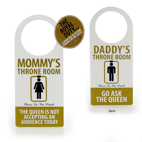 Throne Door Hanger